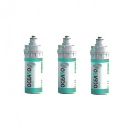 3 Cartucce filtro Oceano OK16S00 BAYO S CarbonBlock Sinter. Ag 0,5 μm originale Waterline in vendita su Evabuna.it