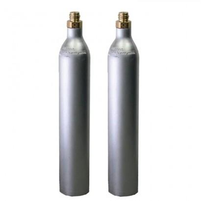Bombola ricaricabile CO2 Acqua Frizzante da 425 gr. GAS UP con attacco ACME originale GAS UP in vendita su Evabuna.it
