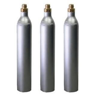 Bombola ricaricabile CO2 Acqua Frizzante da 425 gr. GAS UP con attacco ACME