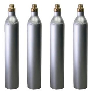 Bombola CO2 da 425 gr. ricaricabile GAS UP con attacco ACME