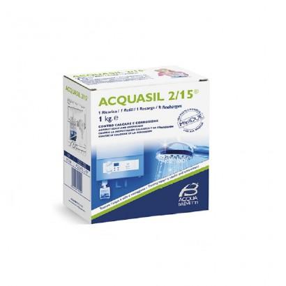 Acquabrevetti ACQUASIL 2/15 Soluzione acquosa di polifosfati / 1 ricarica da Kg. 1 PC104