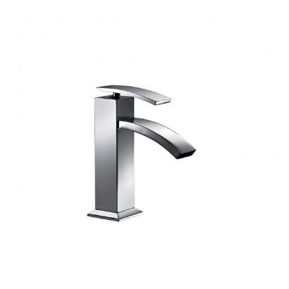 """Miscelatore per lavabo cromato Hego serie IO Quadro rubinetto moderno con attacco piletta 1"""" 1/4 originale Hego in vendita su..."""