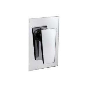 Miscelatore per doccia cromato Hego serie LAMA rubinetto moderno da incasso originale Hego in vendita su Evabuna.it