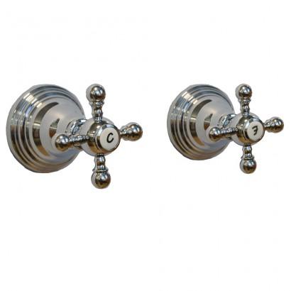 Miscelatore per doccia cromato Porta&bini serie OLD FASHION rubinetto classico e Vintage e Retrò da incasso originale Porta&b...