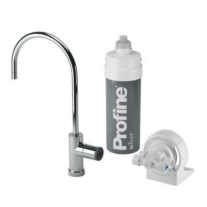 Think Water Kit installazione micro filtrazione acqua serie Profine Silver portata acqua 3 litri al minuto originale Think: W...