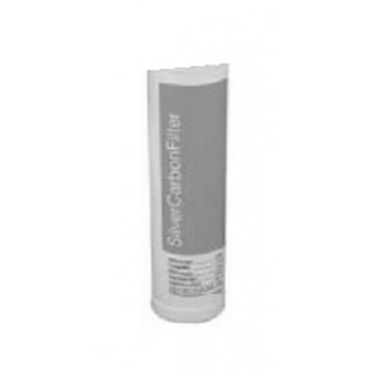 Cartuccia filtro GEL per KIT GELPUR EASY Silver carbon filter Carbone attivo addizionato con argento originale GEL in vendita...