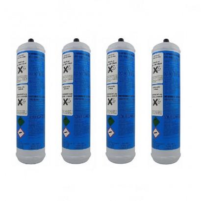 4 Bombole CO2 Usa e Getta 600gr originale  in vendita su Evabuna.it